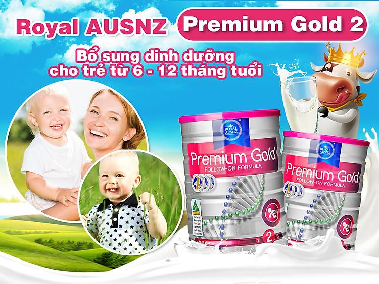 Sữa hoàng gia Úc Gold 2