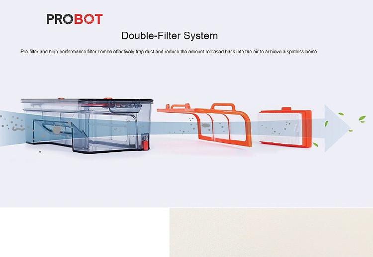 Probot A4 Hybrid, Robot hút bụi lau nhà Động cơ Hybrid Turbo