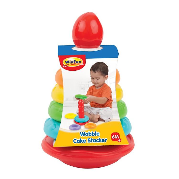 Các món đồ chơi xếp chồng giúp bé phát triển toàn diện