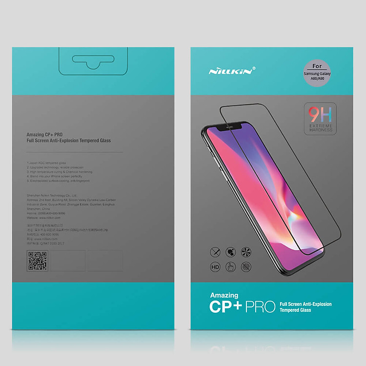 Nillkin Amazing CP+ Pro tempered glass screen protector for Samsung Galaxy A80, A90