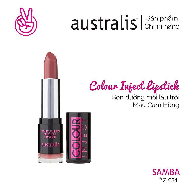 Son Lì Colour Inject Lipstick Australis Úc 8