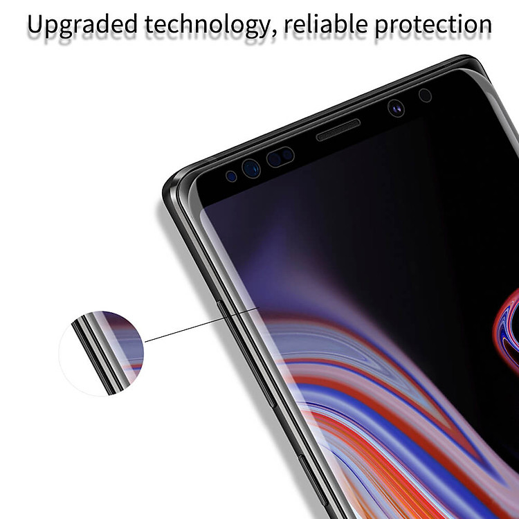 Nillkin Amazing 3D DS+ Max tempered glass screen protector for Samsung Galaxy Note 9