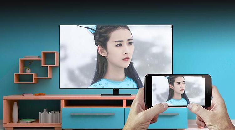 Airplay 2-Smart Tivi QLED Samsung 4K 85 inch QA85Q80T