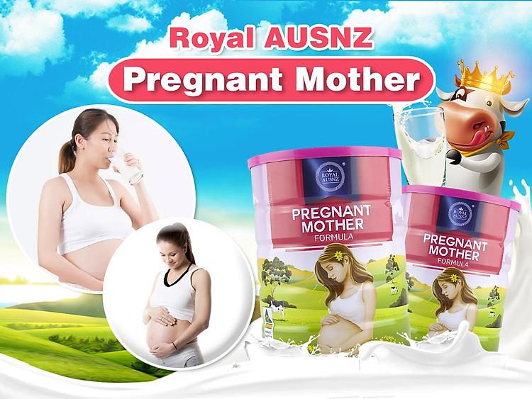Sữa hoàng gia Úc dành cho bà bầu