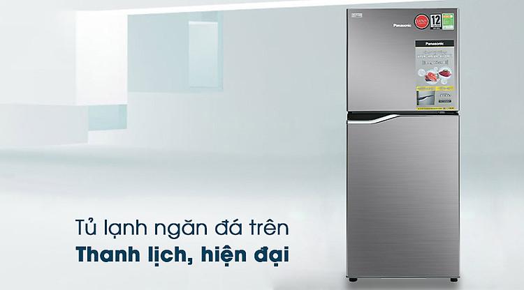 Thiết kế - Tủ lạnh Panasonic Inverter 167 lít NR-BA189PPVN