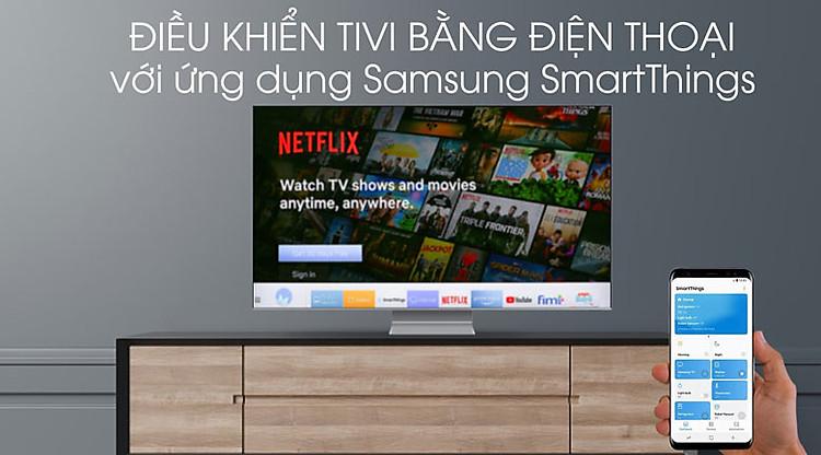 SmartThings-Smart Tivi QLED Samsung 8K 82 inch QA82Q800T