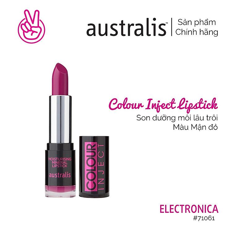 Son Lì Colour Inject Lipstick Australis Úc 6