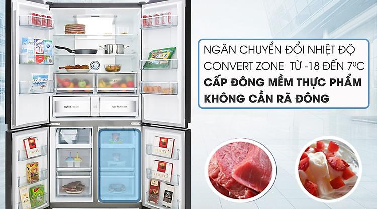 Ngăn cấp đông mềm - Tủ lạnh Toshiba Inverter 622 lít GR-RF646WE-PGV(24)