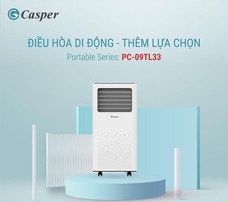Máy lạnh di động Casper PC-09TL33 (1.0 HP)