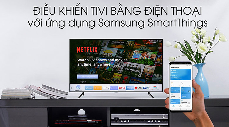 SmartThings - Smart Tivi Samsung 4K 55 inch UA55TU8100