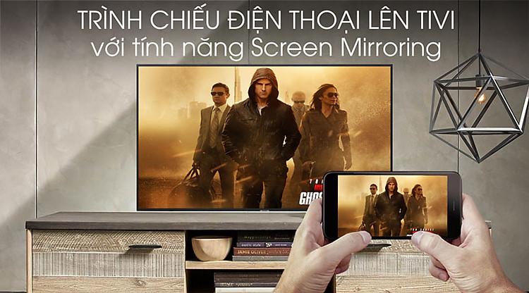Smart Tivi Samsung 4K 70 inch UA70RU7200 - Screen Mirroring