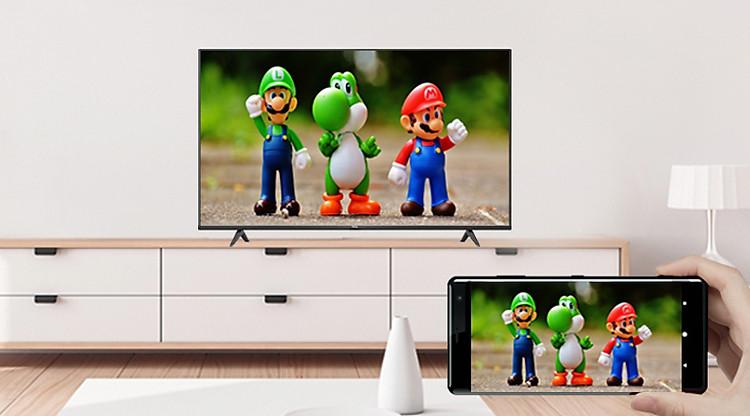 Tính năng Google Cast - Android Tivi TCL 4K 50 inch 50P615
