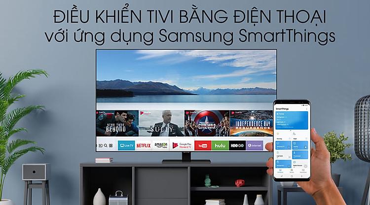 SmartThings - Smart Tivi QLED Samsung 4K 55 inch QA55Q80TA