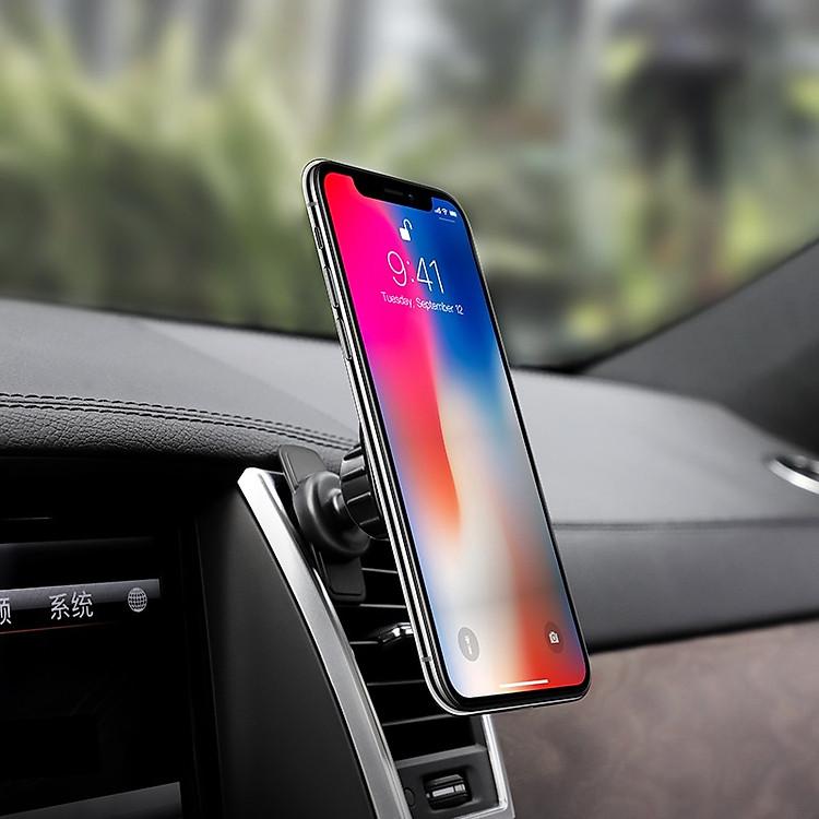 hoco ca52 cửa thoát khí thông minh trong giá đỡ điện thoại xe hơi với điện thoại
