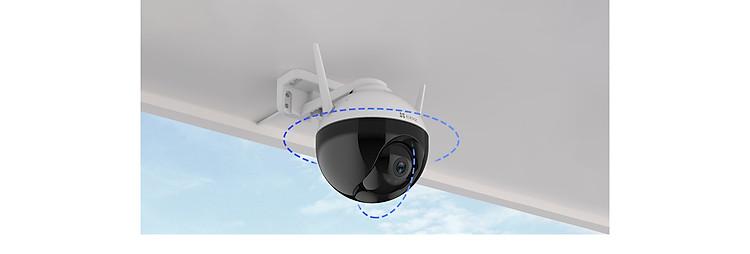 Camera IP Wifi PTZ EZVIZ C8C FHD 1080P - Xoay 355 độ, tích hợp AI nhận diện con người - ban đêm có màu - hổ trợ thẻ nhớ lên đến 256G - hàng nhập khẩu 4