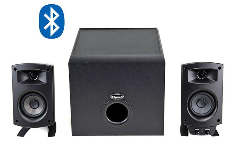Thưởng thức âm thanh ở mọi nơi trong ngôi nhà của bạn với Klipsch ProMedia 2.1 BT