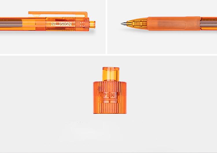 Bút Bi Dạng Gel Viết Chữ Đẹp NUSIGN (Đầu Bi 0.55mm) 2