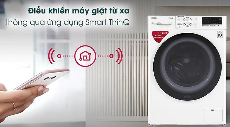 Máy giặt LG Inverter 8.5 kg FV1408S4W - Smart ThinQ