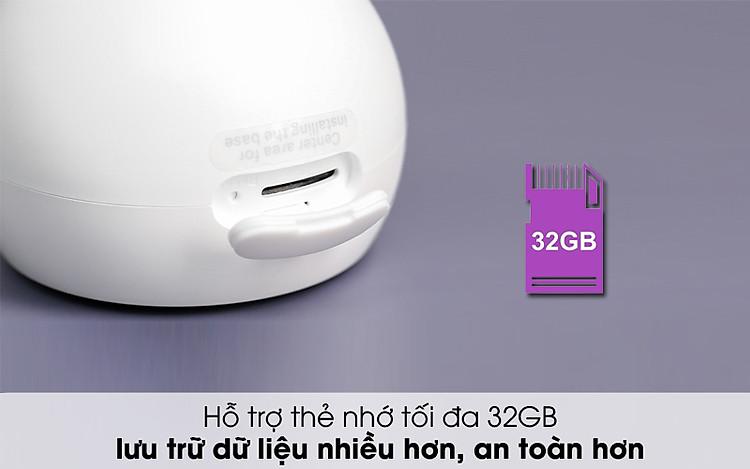 Hỗ trợ thẻ nhớ đến 32GB - Camera IP 1080P Xiaomi Mi Home Magnetic Mount QDJ4065GL Trắng