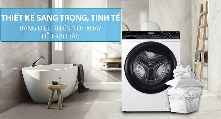 Máy giặt cửa trước Aqua Inverter 8 KG AQD-A800F(W) -Hàng chính hãng (chỉ  giao HCM)   Tiki
