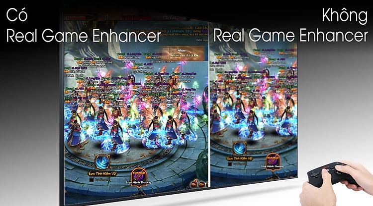 Real Game Enhancer+ - Smart Tivi QLED Samsung 4K 55 inch QA55Q80T