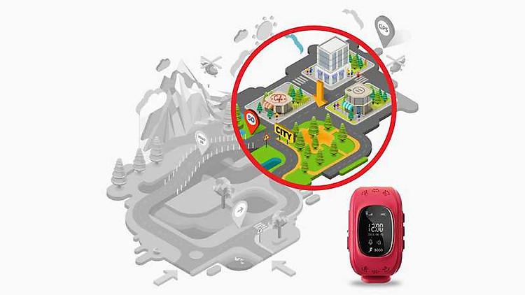 đồng hồ thông minh định vị GPS cho trẻ em 3