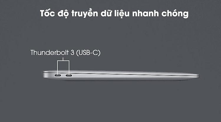 Apple Macbook Air M1 (MGN73SA/A) - Kết nối