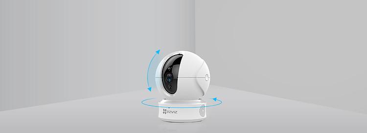 Camera IP - Camera Wifi Trong Nhà EZVIZ C6CN 1080P - Đàm Thoại 2 Chiều - Xoay 360 Độ Theo Chuyển Động - Hàng nhập khẩu 2