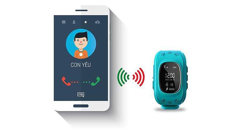 đồng hồ thông minh định vị GPS cho trẻ em 2