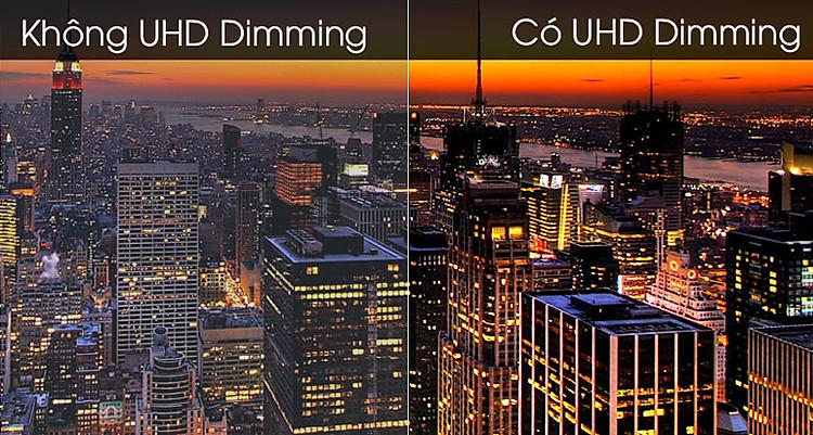 Smart Tivi Samsung 4K 55 inch UA55TU8500 - Công nghệ UHD Dimming