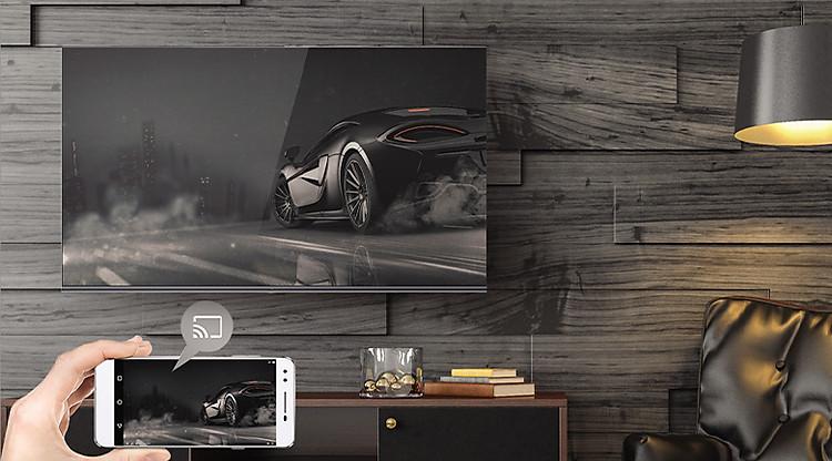 Chromecast - Android Tivi Casper 55 inch 55UG6000