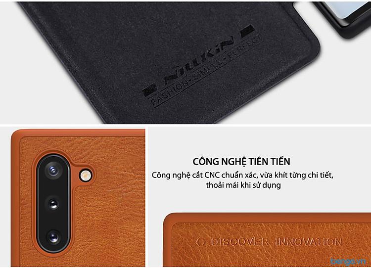 Bao da Samsung Galaxy Note 10 Nillkin QIN Series