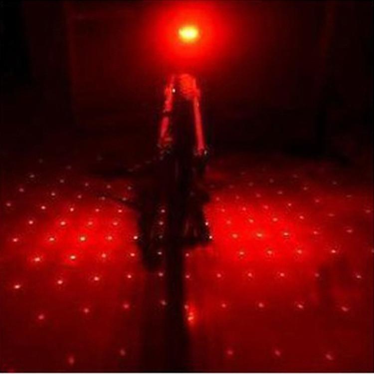 Đèn Chiếu Hậu Laser Gắn Cốt Yên Xe Đạp Đa Chế Độ Goinglink GD5L