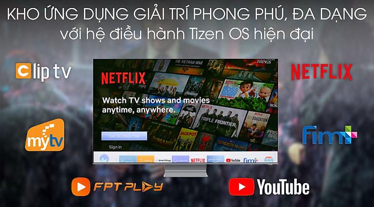 Tizen-Smart Tivi QLED Samsung 8K 82 inch QA82Q800T