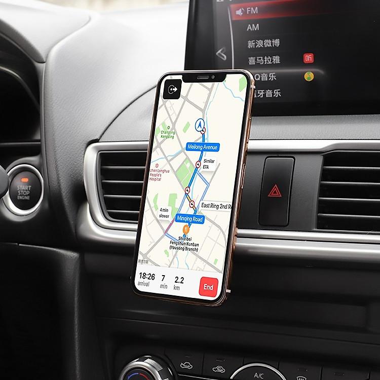 hoco ca47 kim loại từ tính trong giữ xe cho giao diện điều khiển không khí