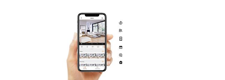 Camera IP - Camera Wifi Trong Nhà EZVIZ C6CN 1080P - Đàm Thoại 2 Chiều - Xoay 360 Độ Theo Chuyển Động - Hàng nhập khẩu 8