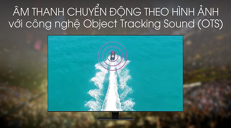 Object Tracking Sound - Smart Tivi QLED Samsung 4K 85 inch QA85Q80T