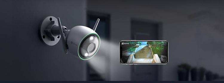 Camera IP Wifi ngoài trời EZVIZ C3N 1080P - ban đêm có màu - hổ trợ thẻ nhớ lên đến 256G - hàng nhập khẩu 3
