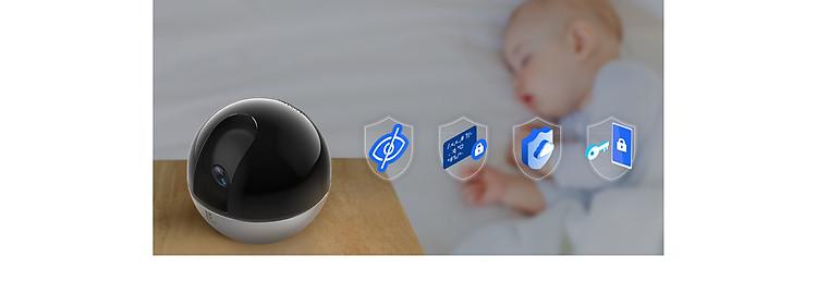Camera IP - Camera Wifi EZVIZ C6W 4Mp ( Độ phân giải 2K ) - Đàm Thoại 2 Chiều - Theo Chuyển Động Thông Minh - Hàng chính hãng 8