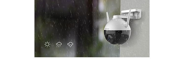 Camera IP Wifi PTZ EZVIZ C8C FHD 1080P - Xoay 355 độ, tích hợp AI nhận diện con người - ban đêm có màu - hổ trợ thẻ nhớ lên đến 256G - hàng nhập khẩu 8