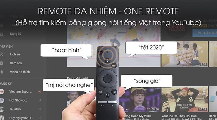 One Remote - Smart Tivi QLED Samsung 4K 55 inch QA55Q80TA