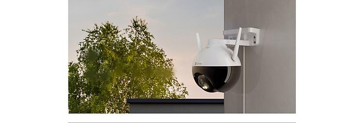 Camera IP Wifi PTZ EZVIZ C8C FHD 1080P - Xoay 355 độ, tích hợp AI nhận diện con người - ban đêm có màu - hổ trợ thẻ nhớ lên đến 256G - hàng nhập khẩu 1