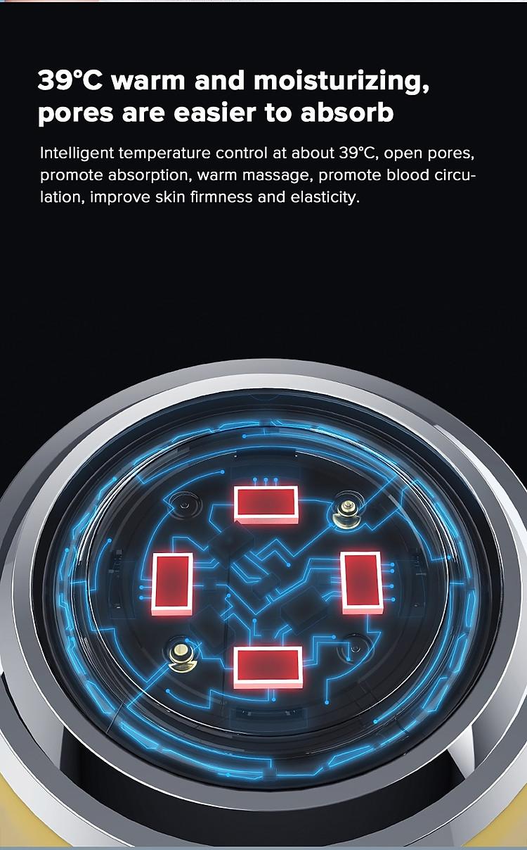 Xiaomi InFace Mặt Rung Nhiều Màu Trẻ Hóa Ion Máy Massage Mặt Làm Đẹp Chăm Sóc Da Mặt 8