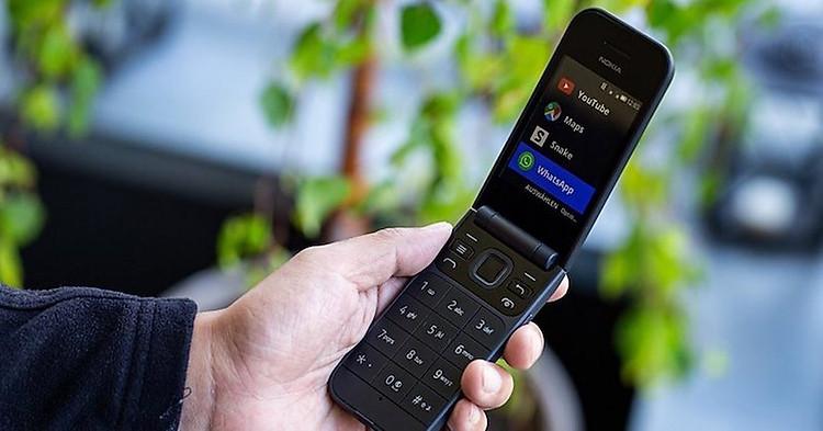 Điện thoại nắp gập Nokia 2720 Flip 2019 | Ứng dụng trên máy