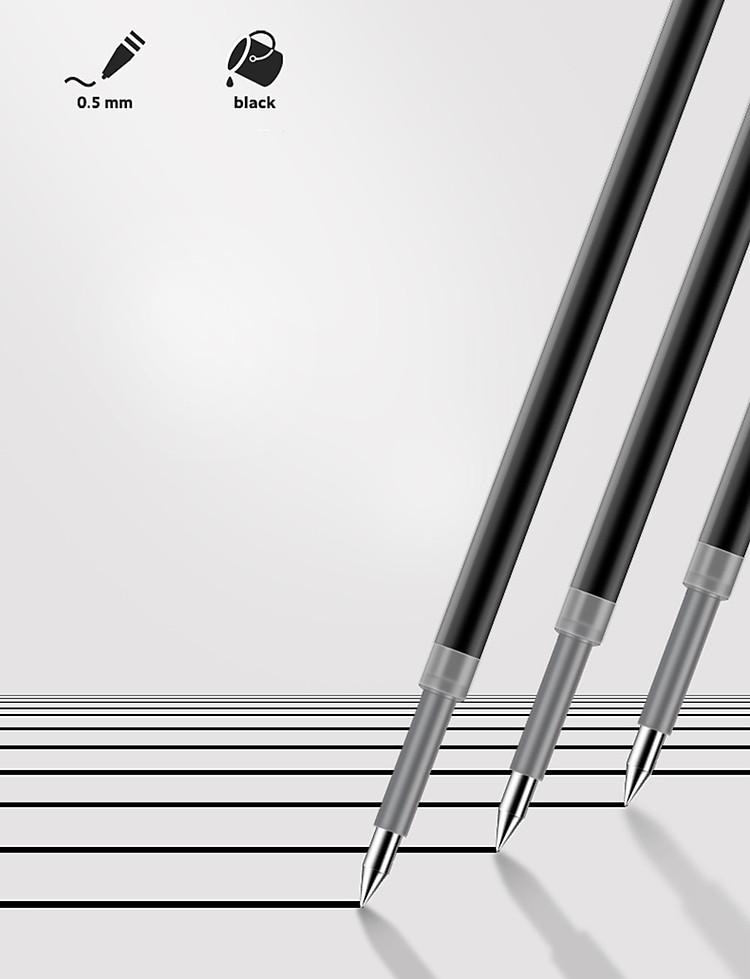Bút Bi Dạng Gel Viết Chữ Đẹp NUSIGN (Đầu Bi 0.55mm) 8
