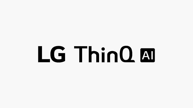 Thẻ này mô tả lệnh giọng nói. Hình ảnh có logo LG ThinQ AI.