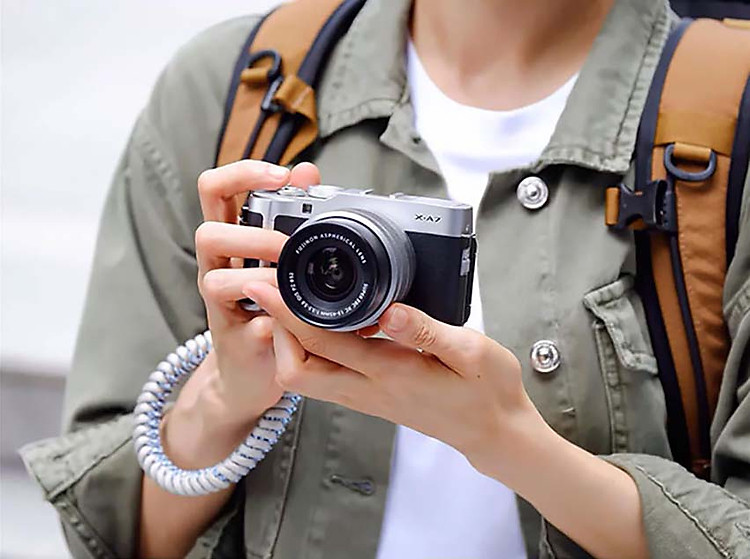 Máy ảnh Fujifilm X-A7 giá tốt đà nẵng