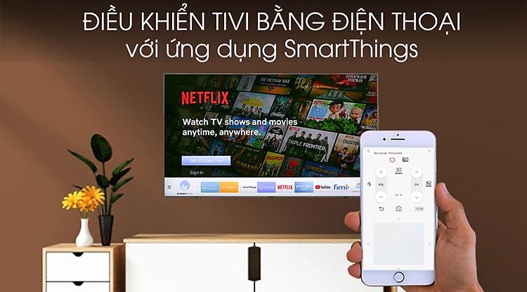 Smart Tivi Samsung 4K 55 inch UA55TU8500 - SmartThings