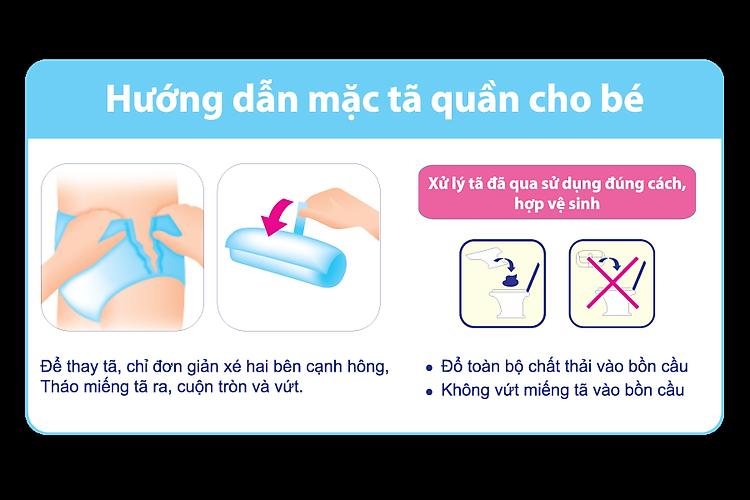 Bỉm - Tã quần Goon Premium size XXXL 26 miếng (cho bé 18-30kg)
