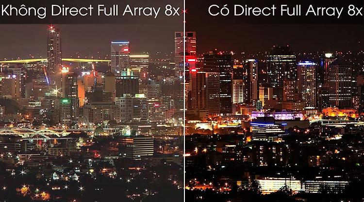 Direct Full Array 8X - Smart Tivi QLED Samsung 4K 55 inch QA55Q80TA
